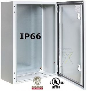Wall Mounting Enclosure RAL7035 IP66 single door HBT 700x500x300