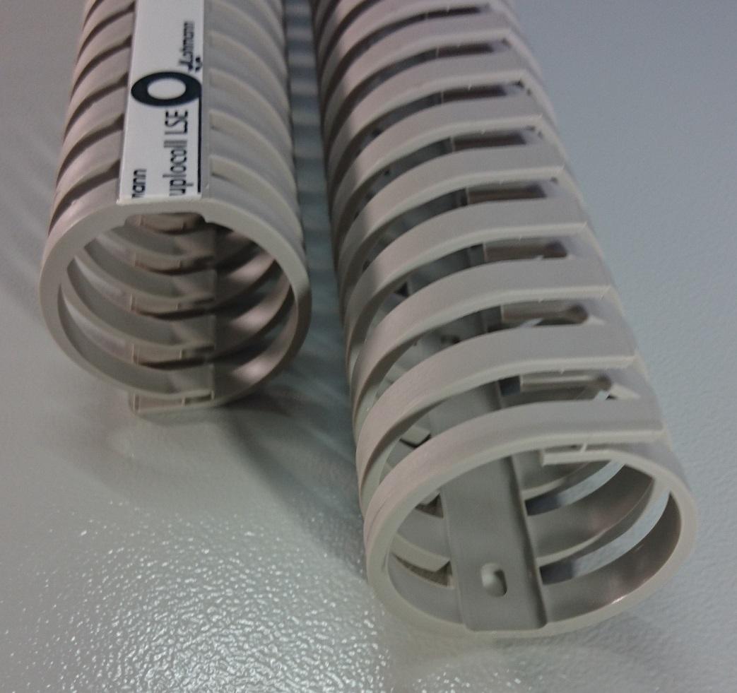 50cm 10x10mm FLEX Verdrahtungskanal halogenfrei Kabelführung PC Schreibtisch