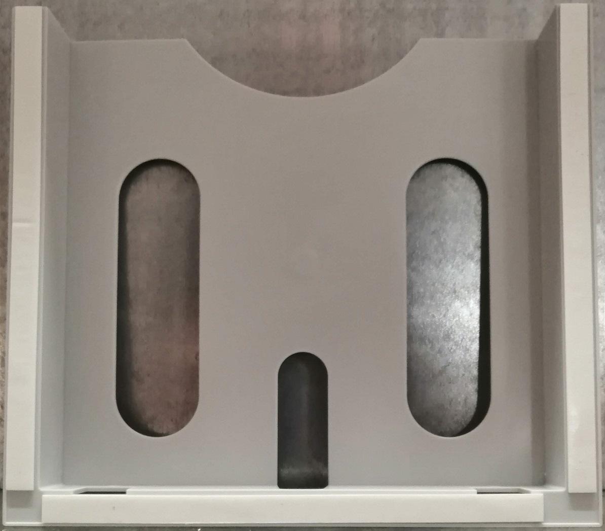 kunststoff schaltplantasche a4 selbstklebend hellgrau. Black Bedroom Furniture Sets. Home Design Ideas